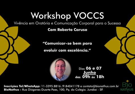 Convite VOCCS - Bionathus