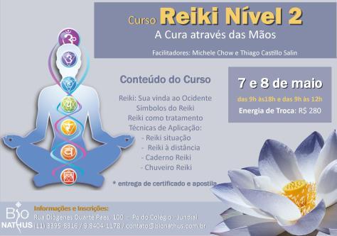 ReikiI nivel II curso maio