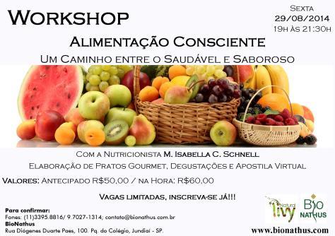 Workshop de Alimentação consciente