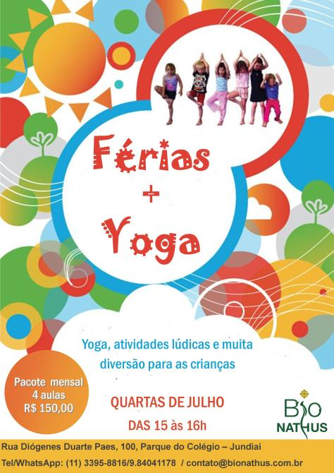 yoga kids ferias