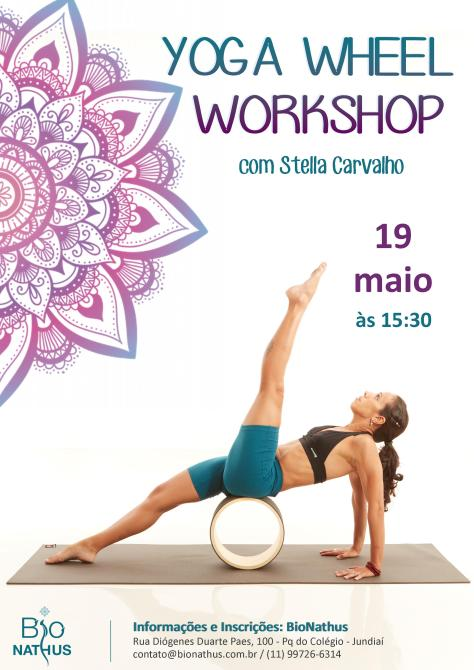 yoga wheel workshop