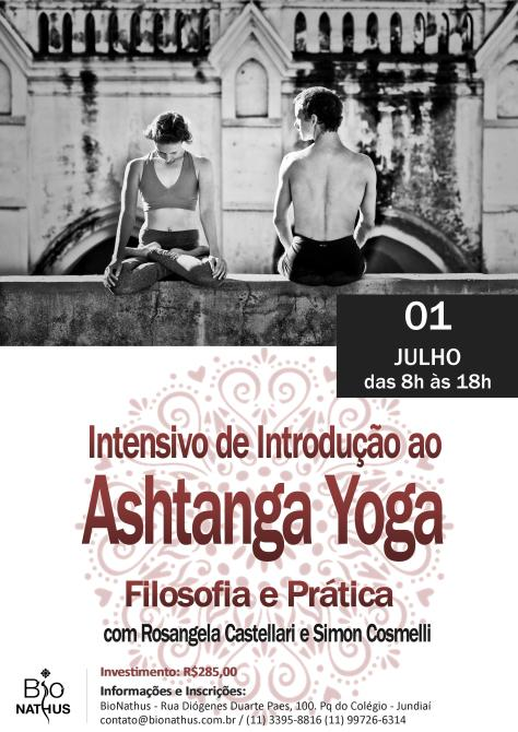 Workshop Ashtanga Rose simon